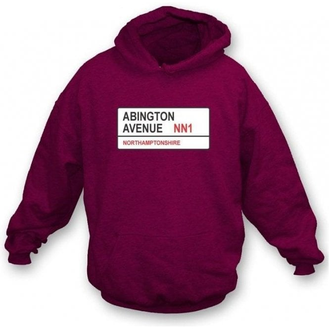 Abington Avenue NN1 Hooded Sweatshirt (Northamptonshire)