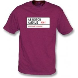 Abington Avenue NN1 T-shirt (Northamptonshire)