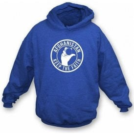 Afghanistan Keep The Faith Hooded Sweatshirt