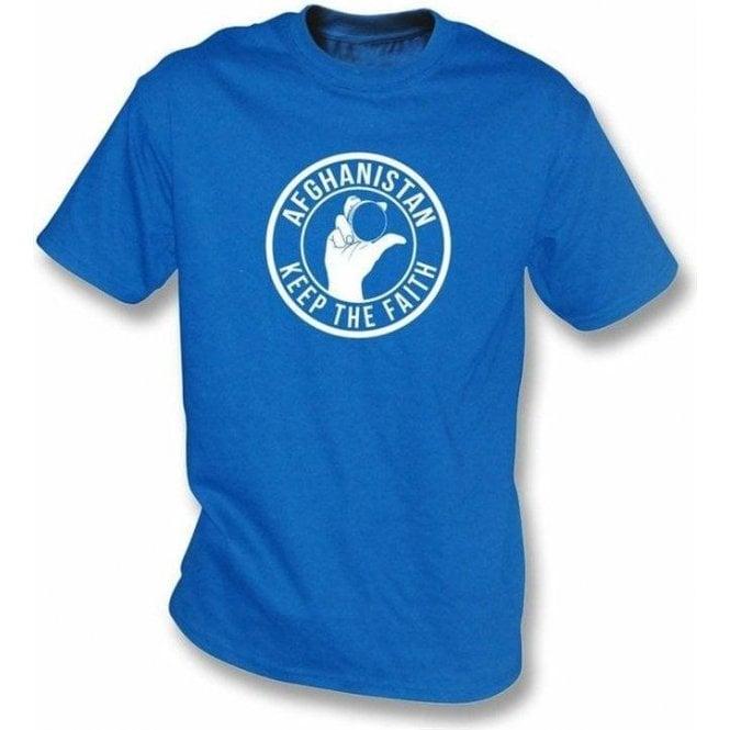 Afghanistan Keep The Faith T-shirt