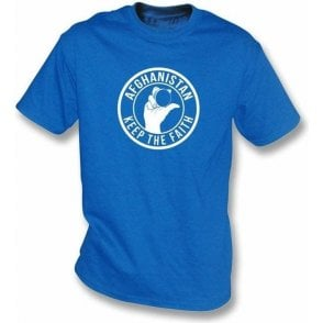 Afghanistan Keep The Faith T-shirt