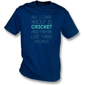 All I Care About Is Cricket Kids T-Shirt