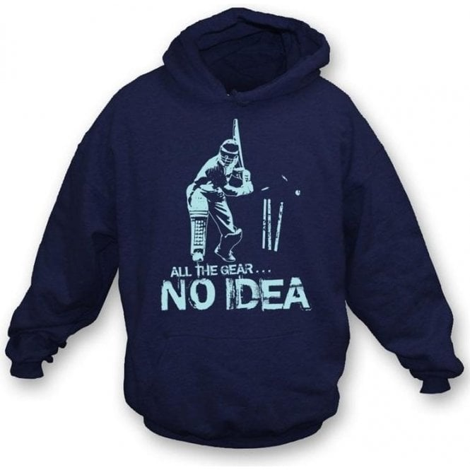 All the gear...No Idea Hooded Sweatshirt