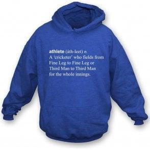 Athlete Definition Hooded Sweatshirt