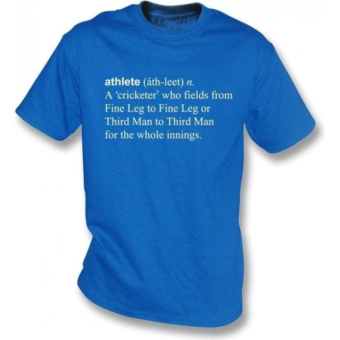 Athlete Definition Kids T-Shirt