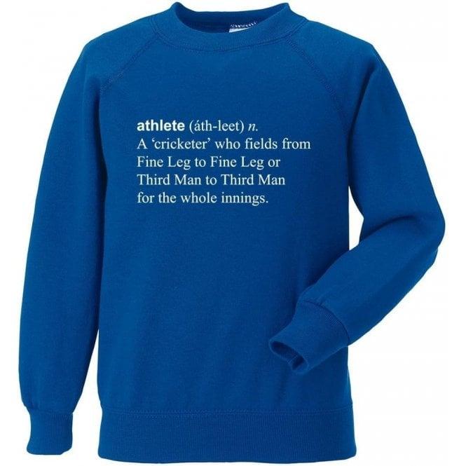 Athlete Definition Sweatshirt