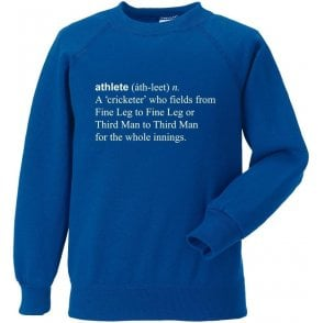 Athlete Definition Sweatshirt