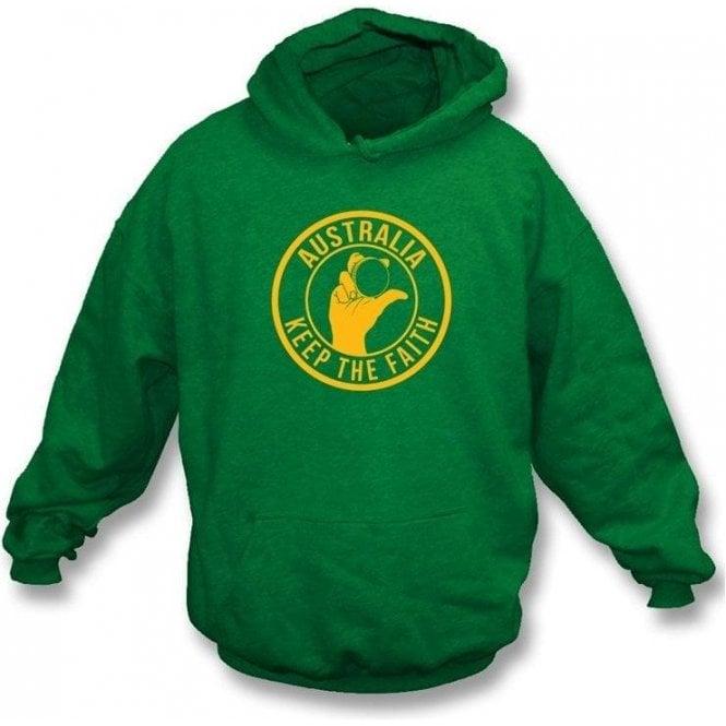 Australia Keep The Faith Hooded Sweatshirt