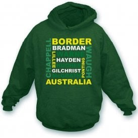 Australia World Cup Legends Hooded Sweatshirt