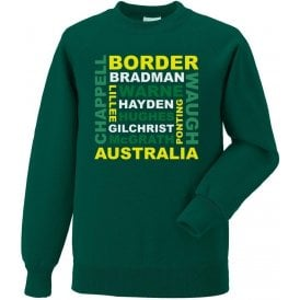 Australia World Cup Legends Kids Sweatshirt