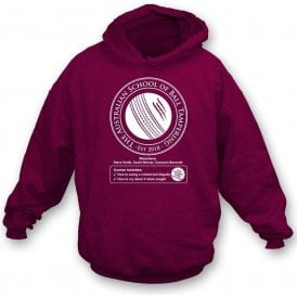 Australian School Of Ball Tampering Hooded Sweatshirt