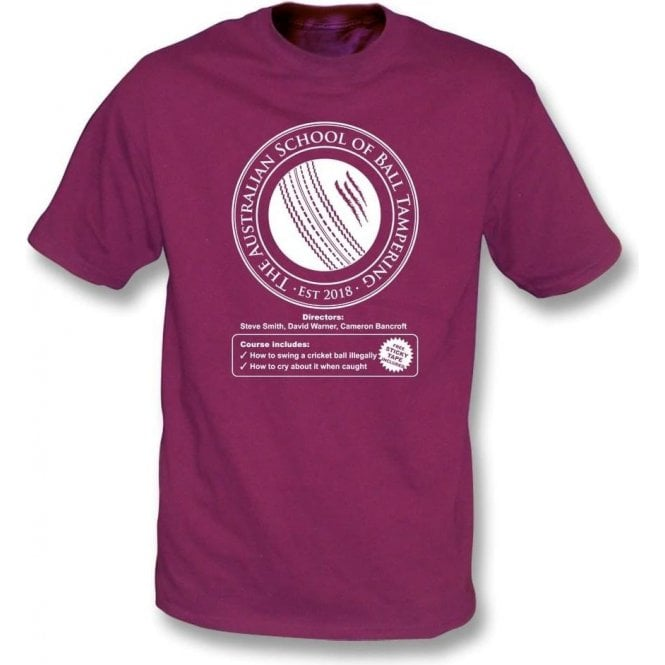Australian School Of Ball Tampering Kids T-Shirt