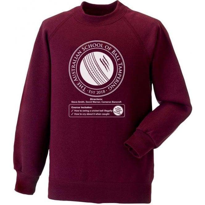 Australian School Of Ball Tampering Sweatshirt
