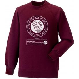 Australian School Of Ball Tampering Sweatshirt