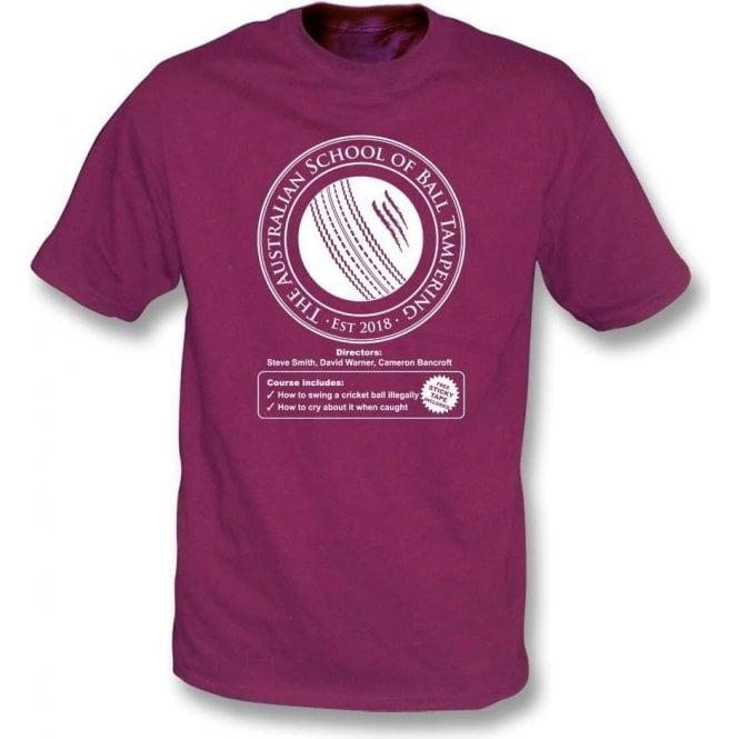 Australian School Of Ball Tampering T-Shirt