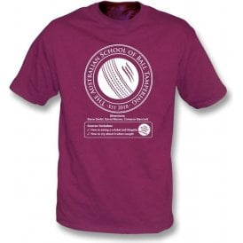 Australian School Of Ball Tampering T-Shirt