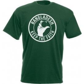 Bangladesh Keep The Faith T-shirt