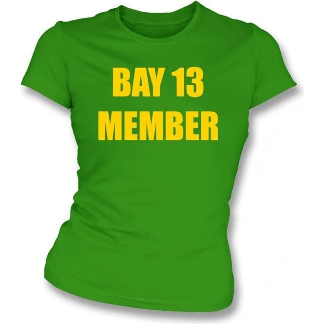 Bay 13 Member Womens Slim Fit T-Shirt