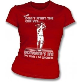 Beefy Botham 1981 Womens Slim Fit T-Shirt