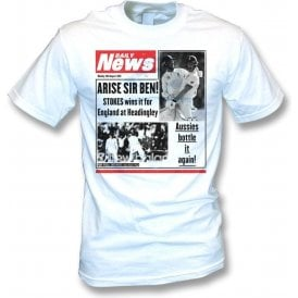 Ben Stokes Daily News Kids T-Shirt