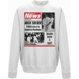 Ben Stokes Daily News Sweatshirt