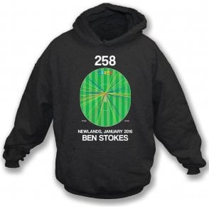 Ben Stokes Innings - 258 Wagon Wheel Hooded Sweatshirt
