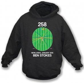 Ben Stokes Innings - 258 Wagon Wheel Hooded Sweatshirt