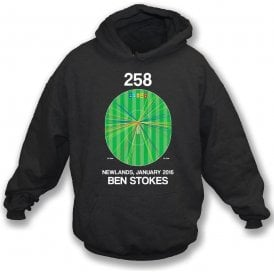 Ben Stokes Innings - 258 Wagon Wheel Kids Hooded Sweatshirt