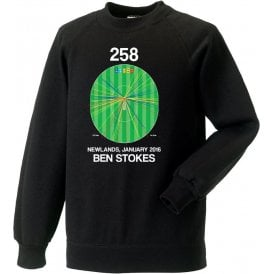 Ben Stokes Innings - 258 Wagon Wheel Sweatshirt