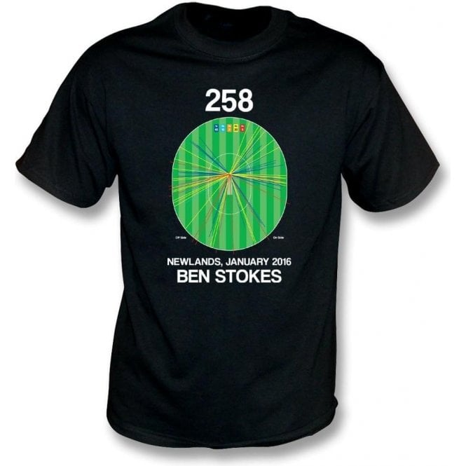 Ben Stokes Innings - 258 Wagon Wheel T-Shirt