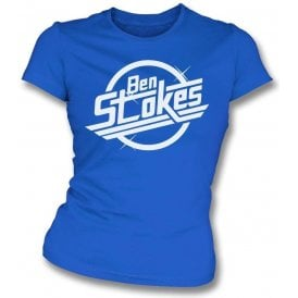 Ben Stokes (The Strokes) Logo Womens Slim Fit T-Shirt