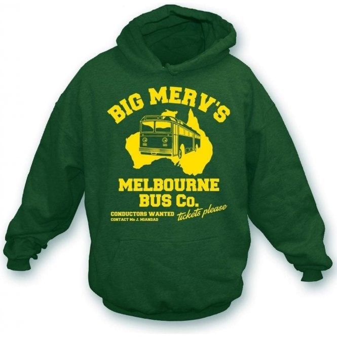 Big Merv's Melbourne Bus Co. Hooded Sweatshirt