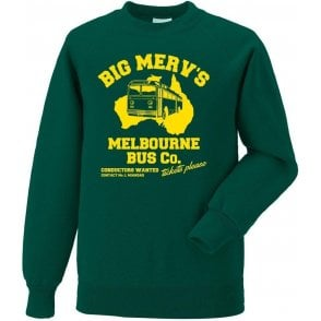 Big Merv's Melbourne Bus Co. Sweatshirt