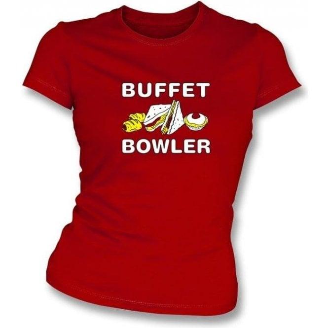 Buffet Bowler Women's Slimfit T-shirt