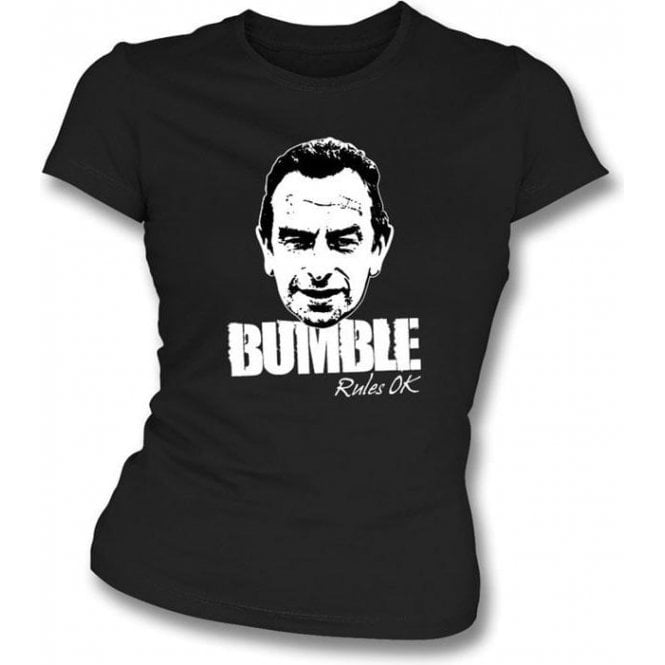 Bumble Rules OK Womens Slim Fit T-Shirt