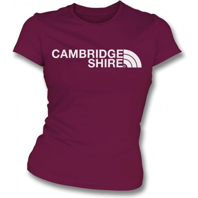 Cambridgeshire Region Womens Slim Fit T-Shirt