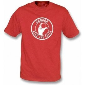 Canada Keep The Faith T-shirt
