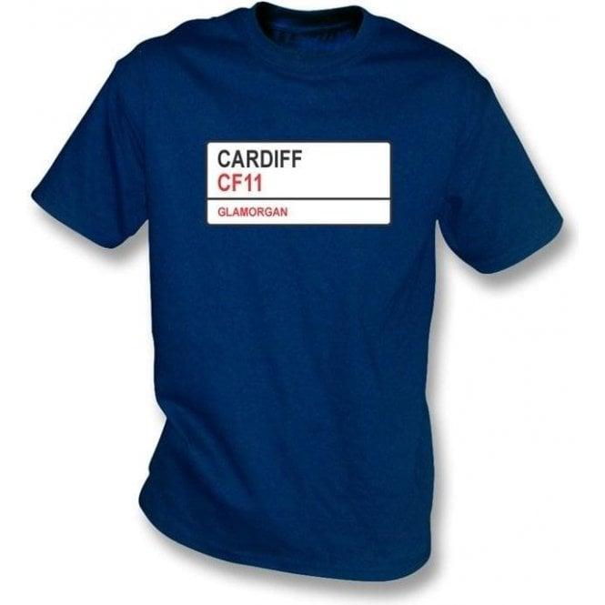 Cardiff CF11 T-shirt (Glamorgan)