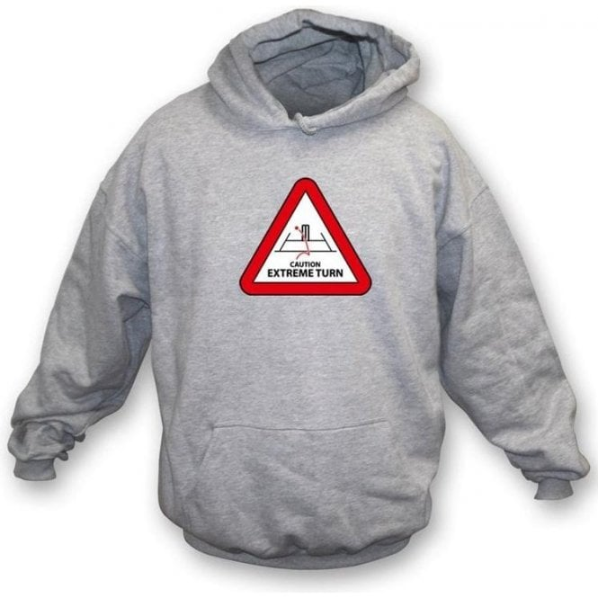 Caution: Extreme Turn Hooded Sweatshirt