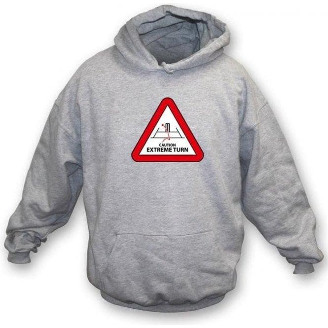 Caution: Extreme Turn Hooded Sweatshirt