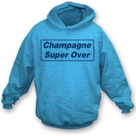 Champagne Super Over (England) Kids Hooded Sweatshirt