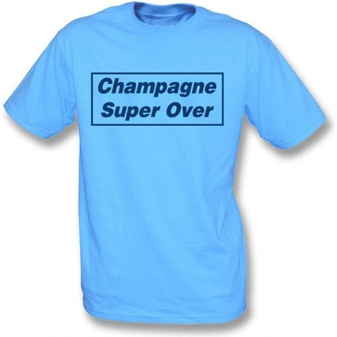 Champagne Super Over (England) Kids T-Shirt
