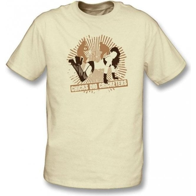 Chicks Dig Cricketers t-shirt