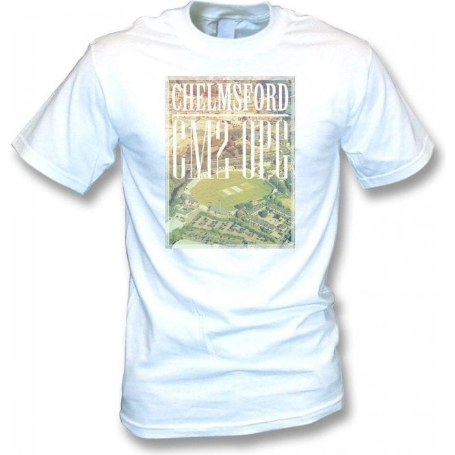 County Cricket Ground Overview (Essex) Kids T-Shirt