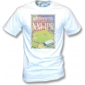 County Cricket Ground Overview (Northamptonshire) Kids T-Shirt