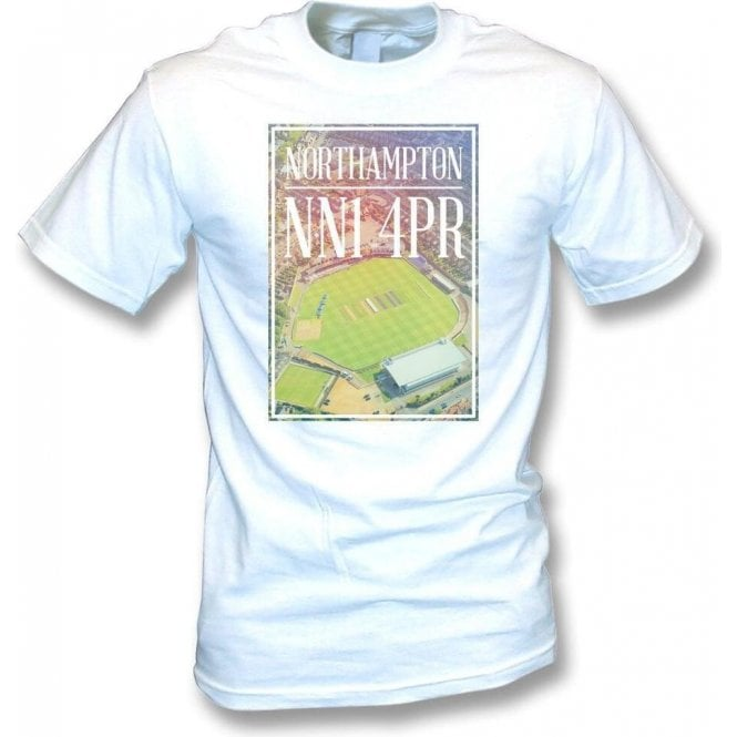County Cricket Ground Overview (Northamptonshire) T-Shirt