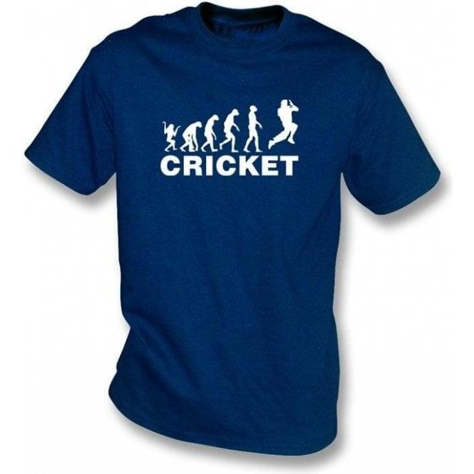Cricket Evolution Bowler T-shirt
