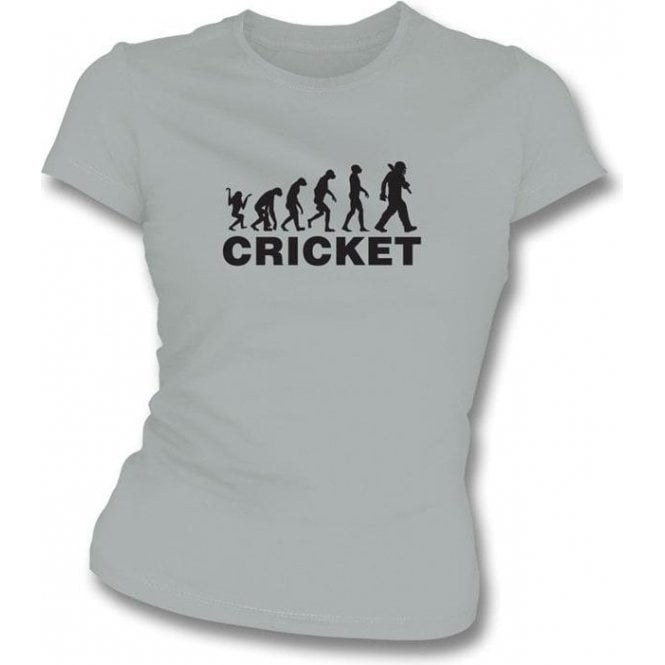 Cricket Evolution Womens Slim Fit T-Shirt