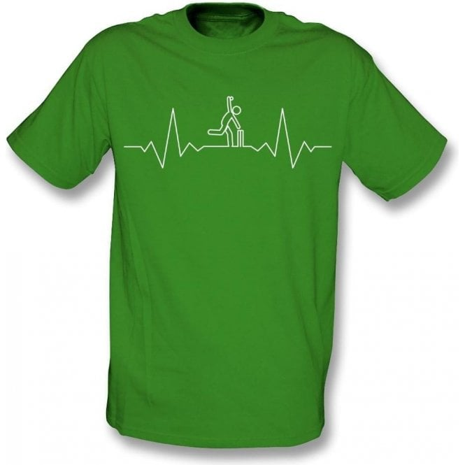 Cricket Heartbeat - Bowler Kids T-Shirt