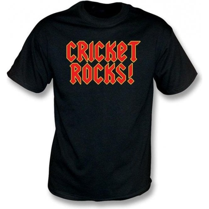 Cricket Rocks Childrens T-shirt